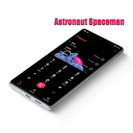 astronaut spaceman emui 10/9/8/5 theme screenshot 3