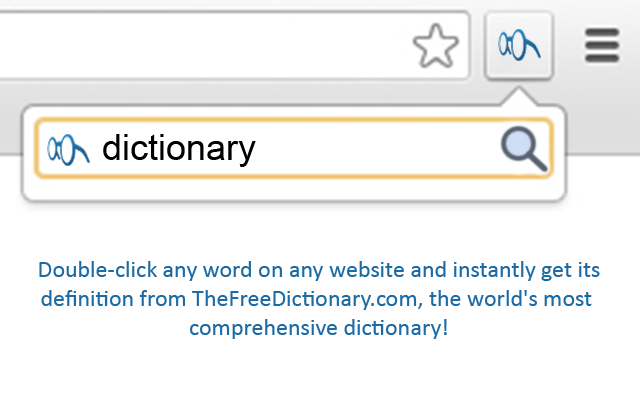 TheFreeDictionary.com Extension