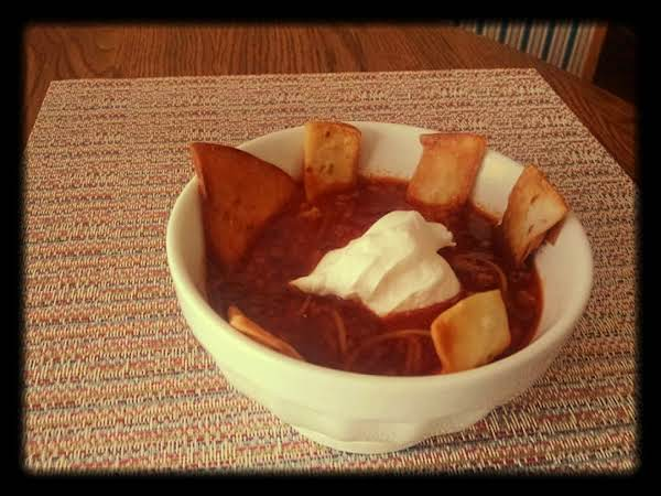 Mexican Pork And Chorizo Tortilla Soup By Barb