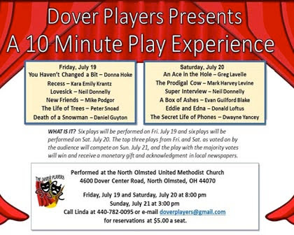 Dover Players 10 Minute Play Experience