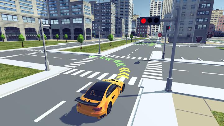 Driving School 3D Android App Screenshot