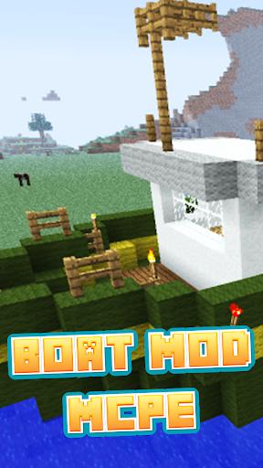 Boat Mod For MCPE'