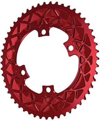Absolute Black Premium Oval Road Outer Chainring, 4x110BCD alternate image 2