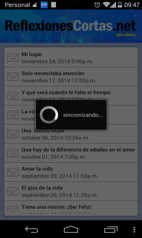 Reflexiones Cortas- screenshot