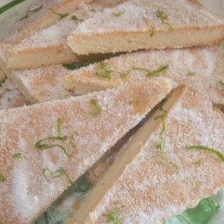 Lime Shortbread Recipe