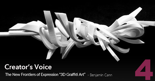 "The New Frontiers of Expression ""3D Graffiti Art"""
