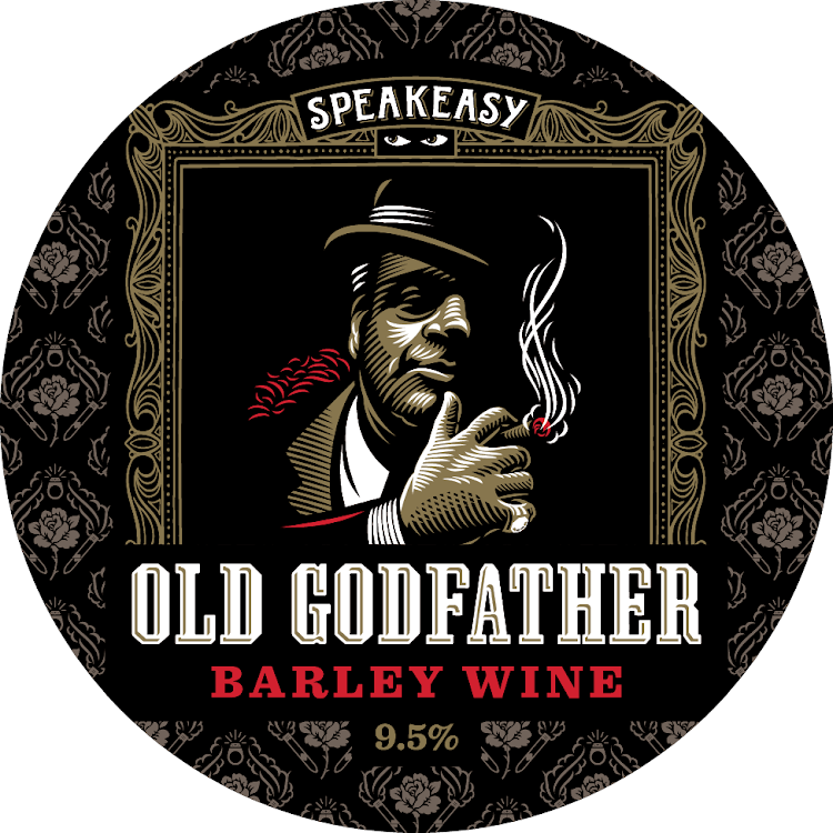 Logo of Speakeasy Old Godfather Barleywine