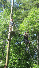 Photo: The zipline at Camp Toccoa