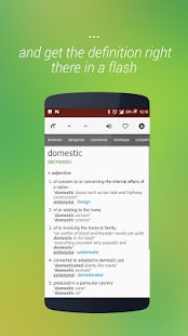 onTouch English Dictionary - offline- screenshot thumbnail