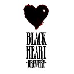 Logo for Black Heart Brewery