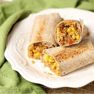 How to Make Veggie Quinoa Burritos Breakfast.