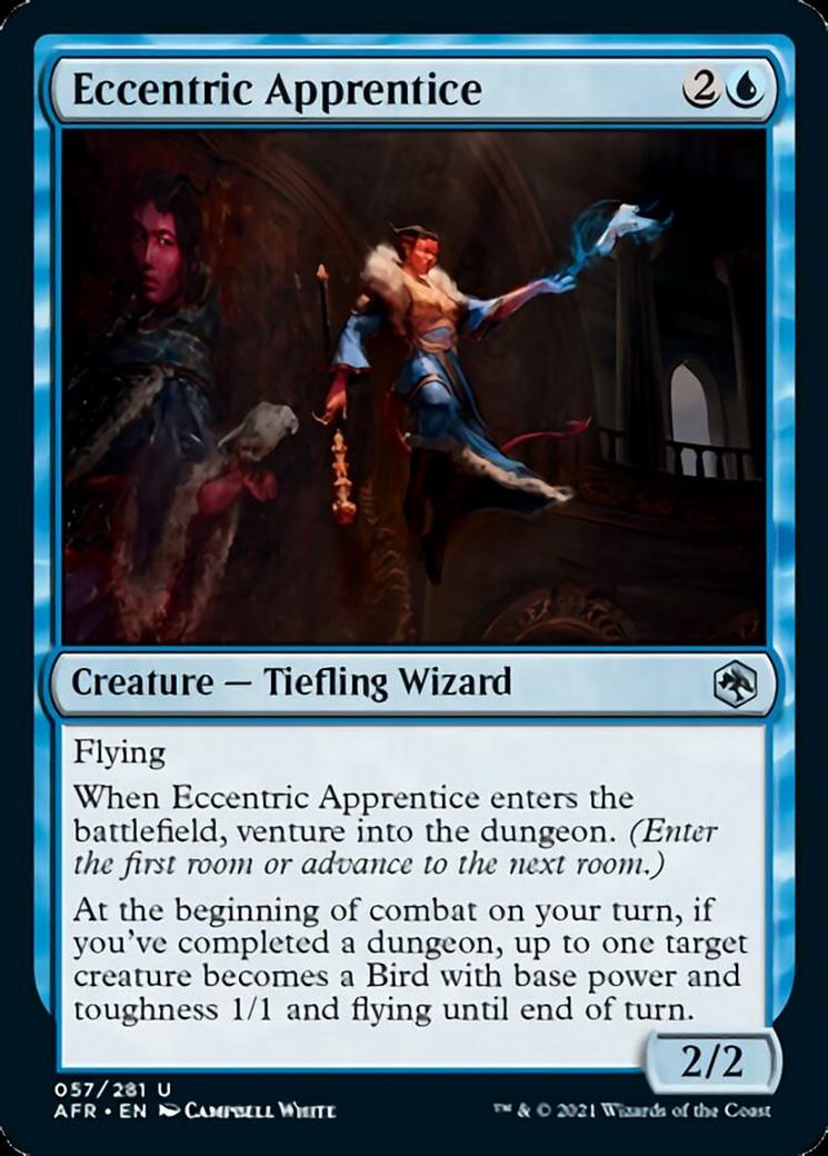 Eccentric Apprentice MTG Card