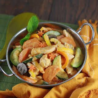 Thai Chicken Vegetable Curry.