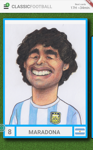 Classic Football Collection Cards ss1