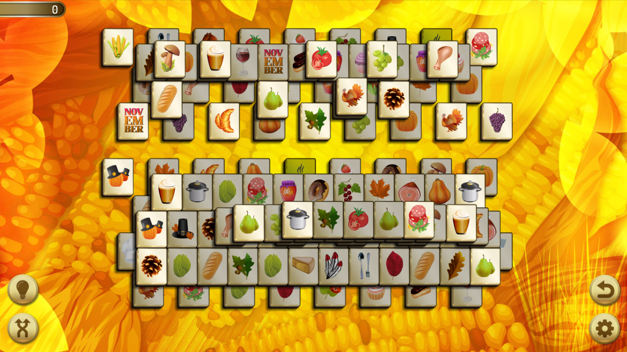 Mahjong Skies: Valentine's Day- screenshot