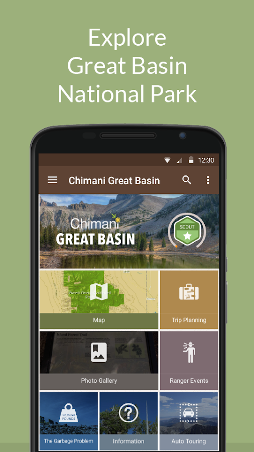 Great Basin NP by Chimani- screenshot