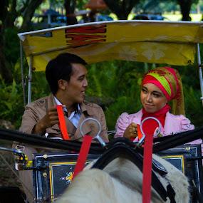 dokar by Yosep Atmaja - People Couples ( love, couple, dokar )