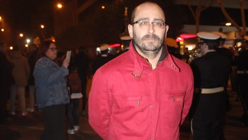 Javier Marín ha estado a ligado al Prendimiento desde su niñez.