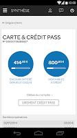 Screenshot of Carrefour Banque