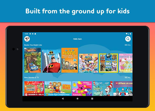 Amazon FreeTime Unlimited: Kids Shows, Games, More 2.0.0.203376 screenshots 19