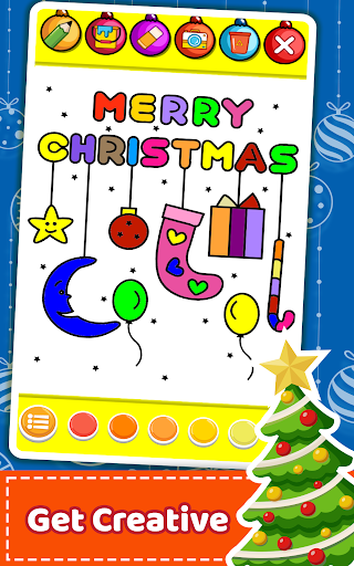 Christmas Coloring Book & Games for kids & family 1.5 screenshots 5