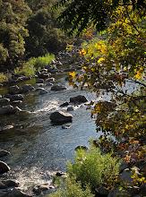 Photo: Merced River, running by Yosemite View Lodge, El Portal.  #2906