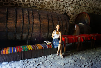 Photo: Опитахме мелнишките вина в Кордопуловата къща.