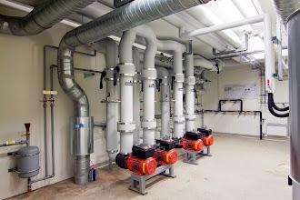 Photo: Local pompe refroidissement #datacenter #reims (Visite de chantier 28.11.2014)