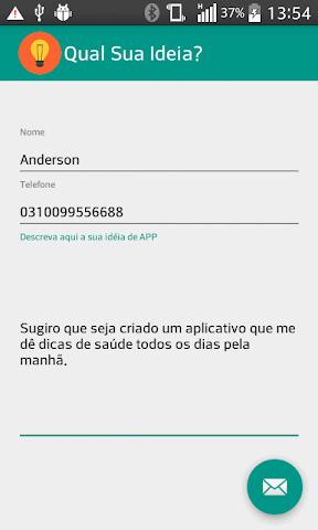 android Qual sua ideia? Screenshot 0