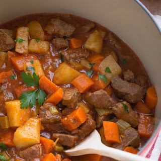 Classic Homemade Beef Stew