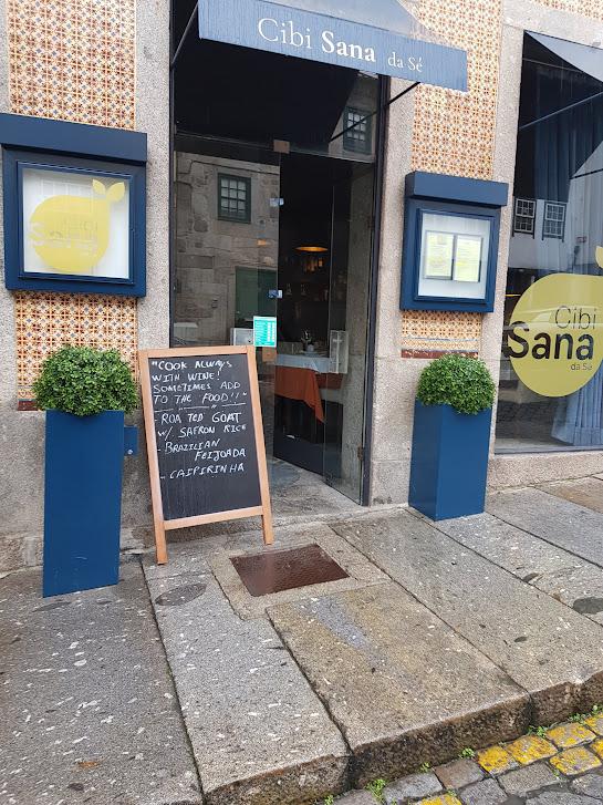Foto da fachada do Cibi Sana da Sé