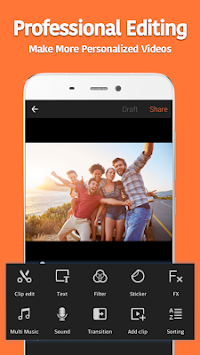 VivaVideo - Free Video Editor APK screenshot thumbnail 2