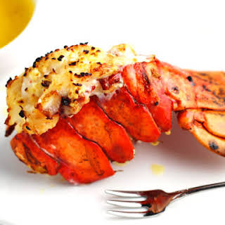 Perfectly Broiled Lobster Tails.