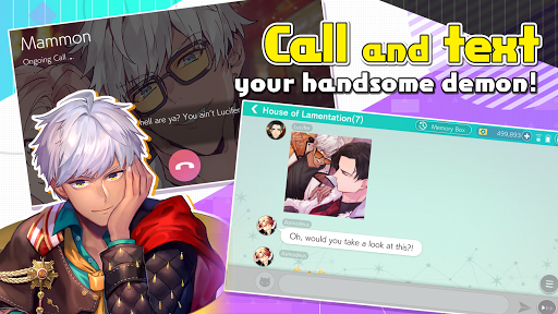 Obey Me! Shall we date? - Anime Dating Sim Game - android2mod screenshots 6