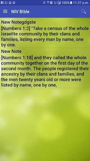 NIV Bible Free 9.0 screenshots 6