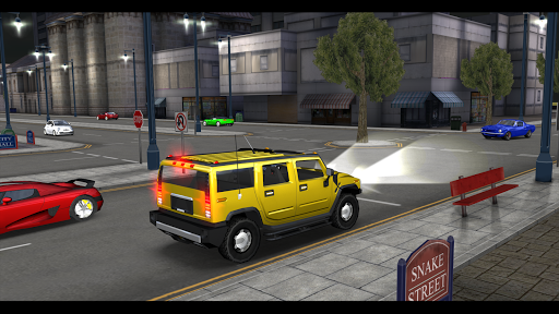 car driving simulator: sf screenshot 2
