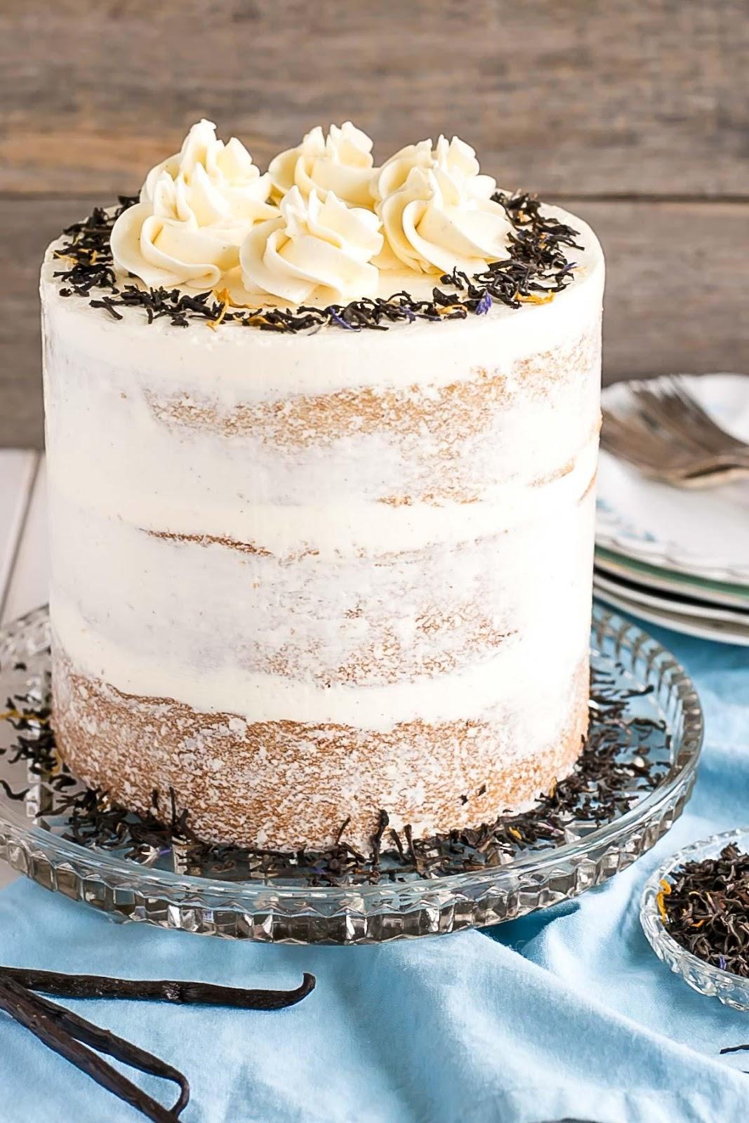 Cake with Tea Flavor