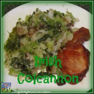 Irish Colcannon.