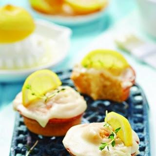 Mini Thyme And Lemon Cakes