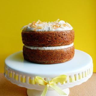 Paleo Banana Cake with Coconut Whipped Cream