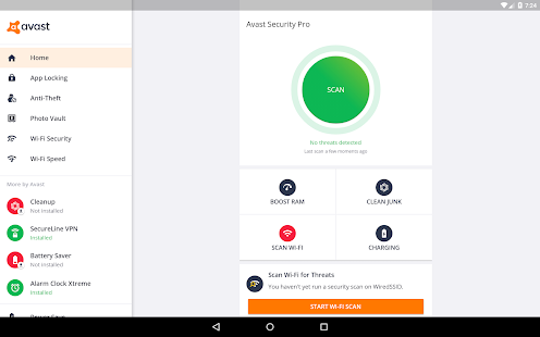 Avast Mobile Antivirus & Virenschutz 2019 Screenshot
