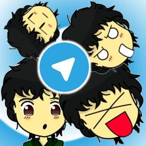 Eu (Phelipefox) literalmente no Telegram!.