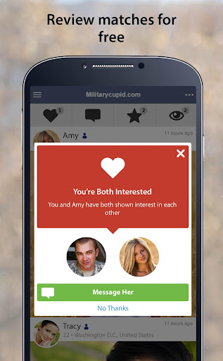 MilitaryCupid - Military Dating App 3.1.4.2376 screenshots 3