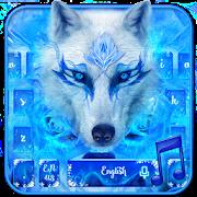 Blue Ice Wolf - Music Keyboard Theme