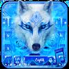 Blue Ice Wolf - Music Keyboard Theme APK