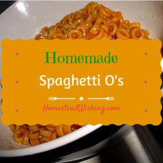 Mock Spaghetti O'S Recipe