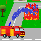 Fire Truck - Put out the Fire!