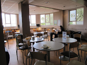 Photo: Another eating area in Student Union, St. John's Campus, University of Worcester