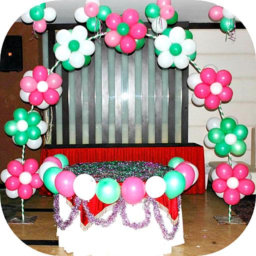 Baixar Ideias de decoração de balão para Android