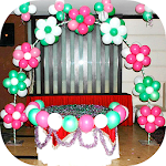 Balloon Decoration Ideas Icon